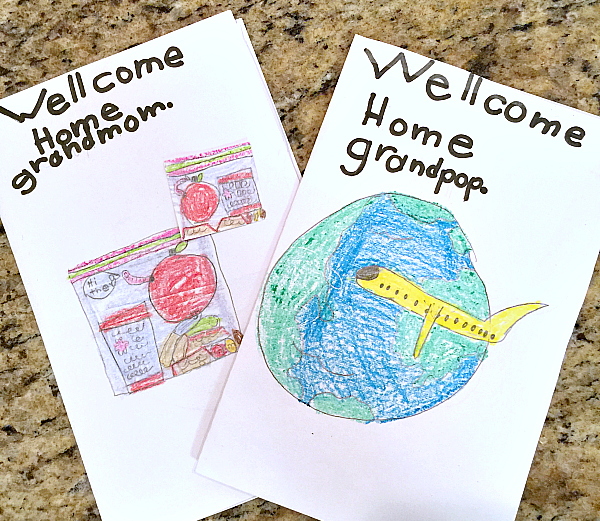 welcome home cards